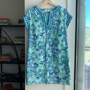 Vineyard Vines Corida Floral Print Tunic Dress